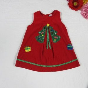 Rare Editions 24mo Red Jumper w/ Christmas Tree